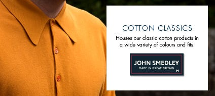 Mens Cotton Classics, Cotton Classic Knitwear & Jumpers | John Smedley Official Store