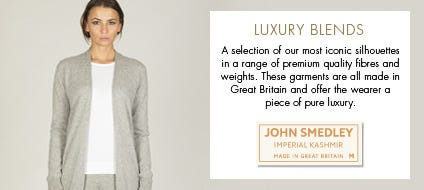 Womens Luxury Blends | John Smedley Official Store