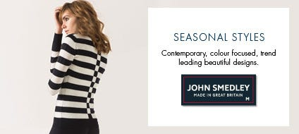 Womens Seasonal Knitwear, Wool Sweaters & Seasonal Jumpers | John Smedley Official Store