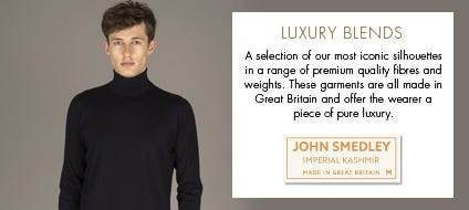 Mens Luxury Blends | John Smedley Official Store