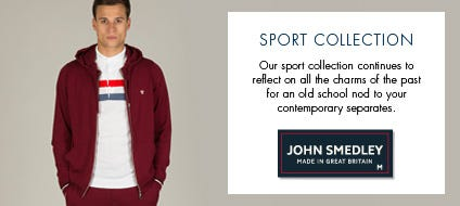 Men's Sport Collection | John Smedley Official Store