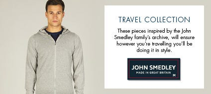AW14 Travel Collection | John Smedley Official Store