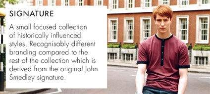 Mens Signature Collection | John Smedley Official Store