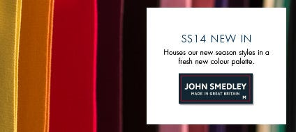 Mens New In, Home Of The Finest Men's Knitwear | John Smedley Official Store