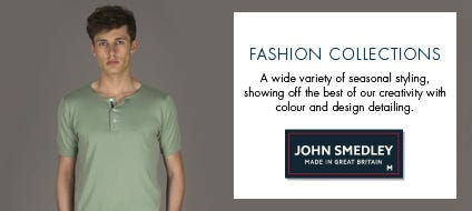 Mens Fashion Cotton Knitwear, Cotton Sweaters & Fashion Jumpers | John Smedley Official Store