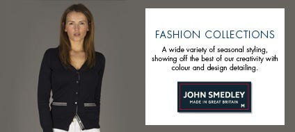 Womens SS14 Fashion Knitwear, Cotton Sweaters & fASHION Jumpers | John Smedley Official Store
