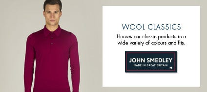 Mens Wool Classics, Classic Wool Knitwear & Jumpers | John Smedley Official Store