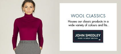 Womens Classic Wool Knitwear, Classic Wool Sweaters & Classic Jumpers | John Smedley Official Store