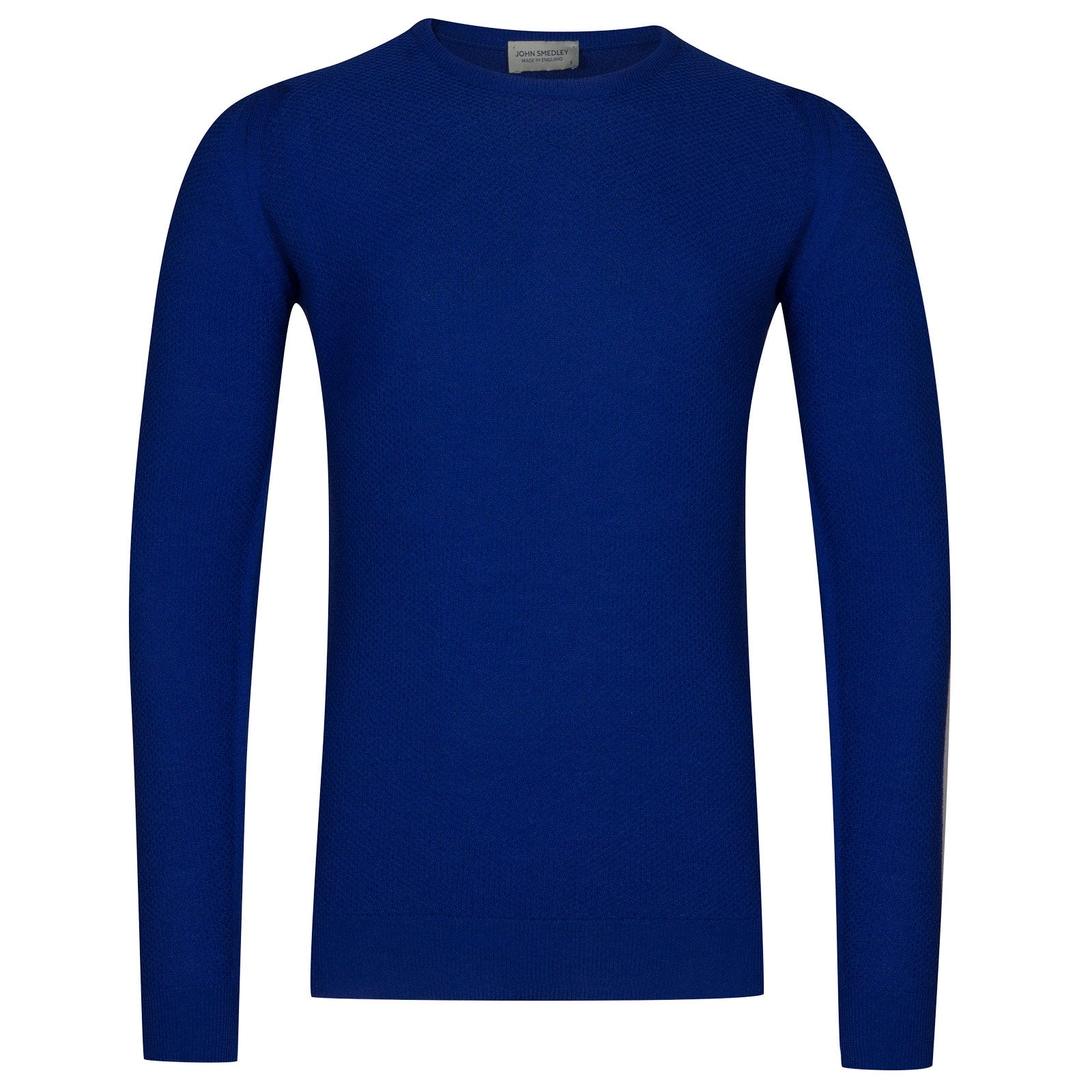 John Smedley 1Singular Merino Wool Pullover in Coniston Blue-XS