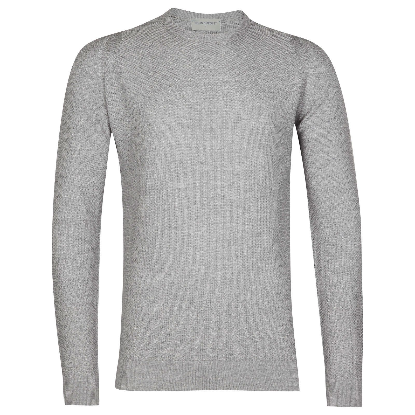 John Smedley 1Singular in Silver Pullover-MED