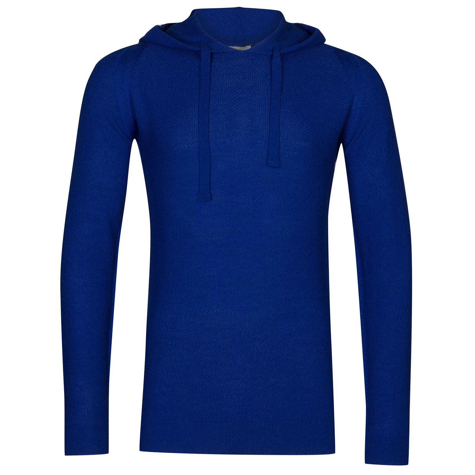 John Smedley 4Singular Merino Wool Pullover in Coniston Blue-XS