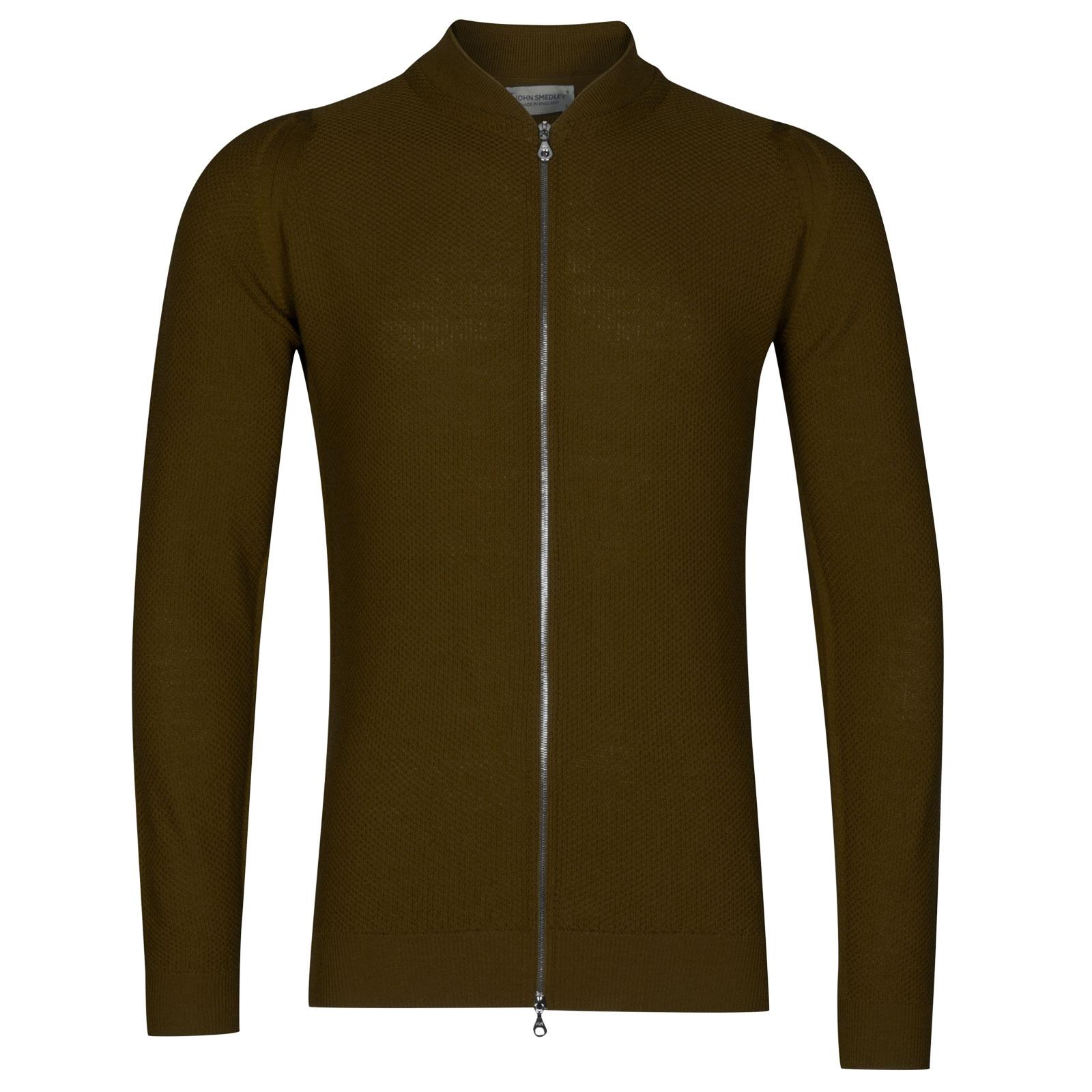 John Smedley 6Singular in Khaki Jacket-XXL