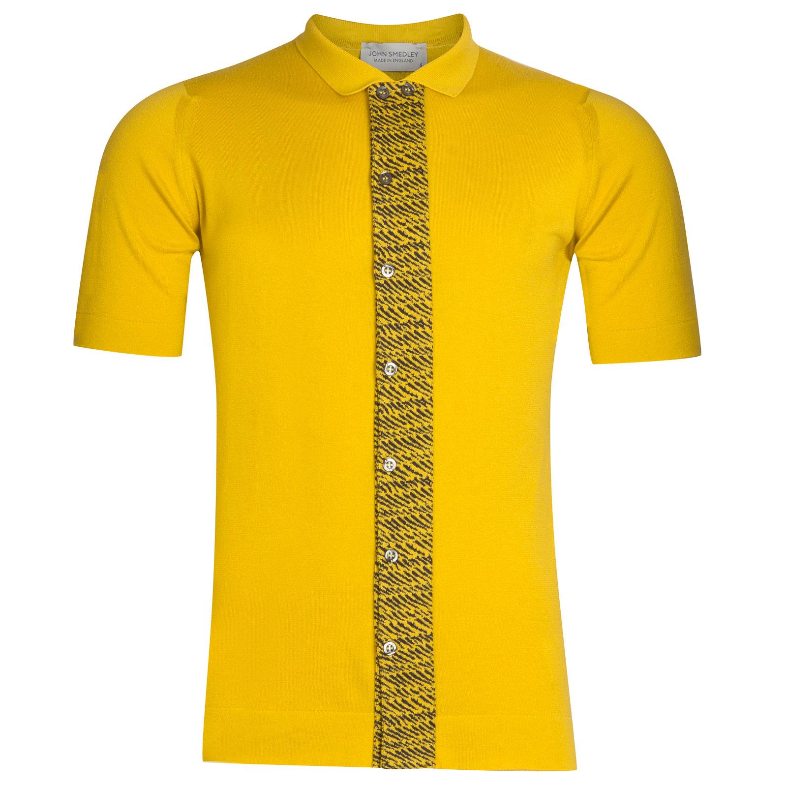 John Smedley Ackington Sea Island Cotton Polo Shirt in Tailors