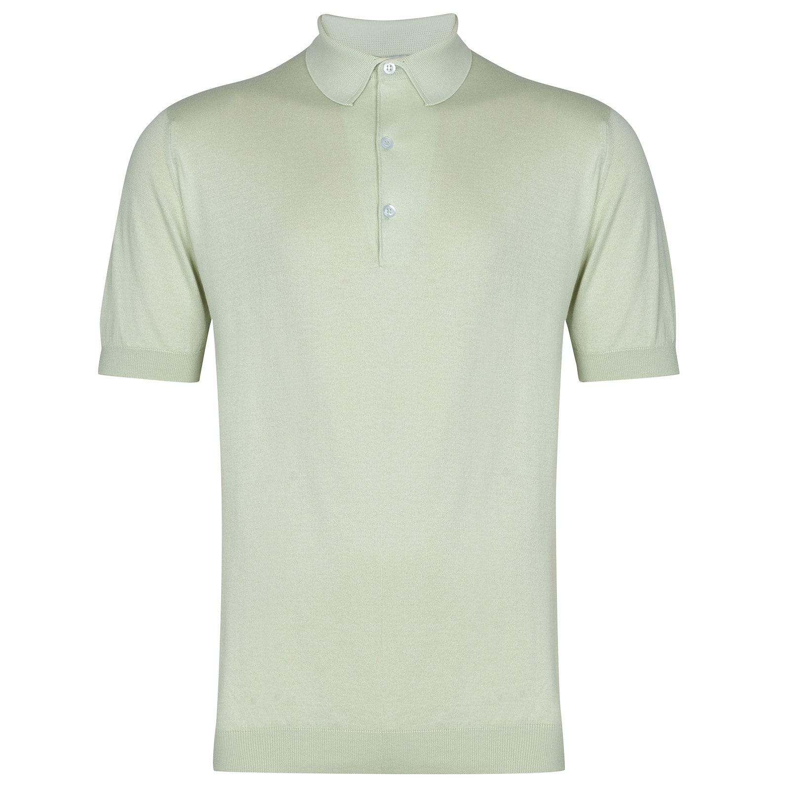 John Smedley Adrian in Bud Green Shirt-XLG