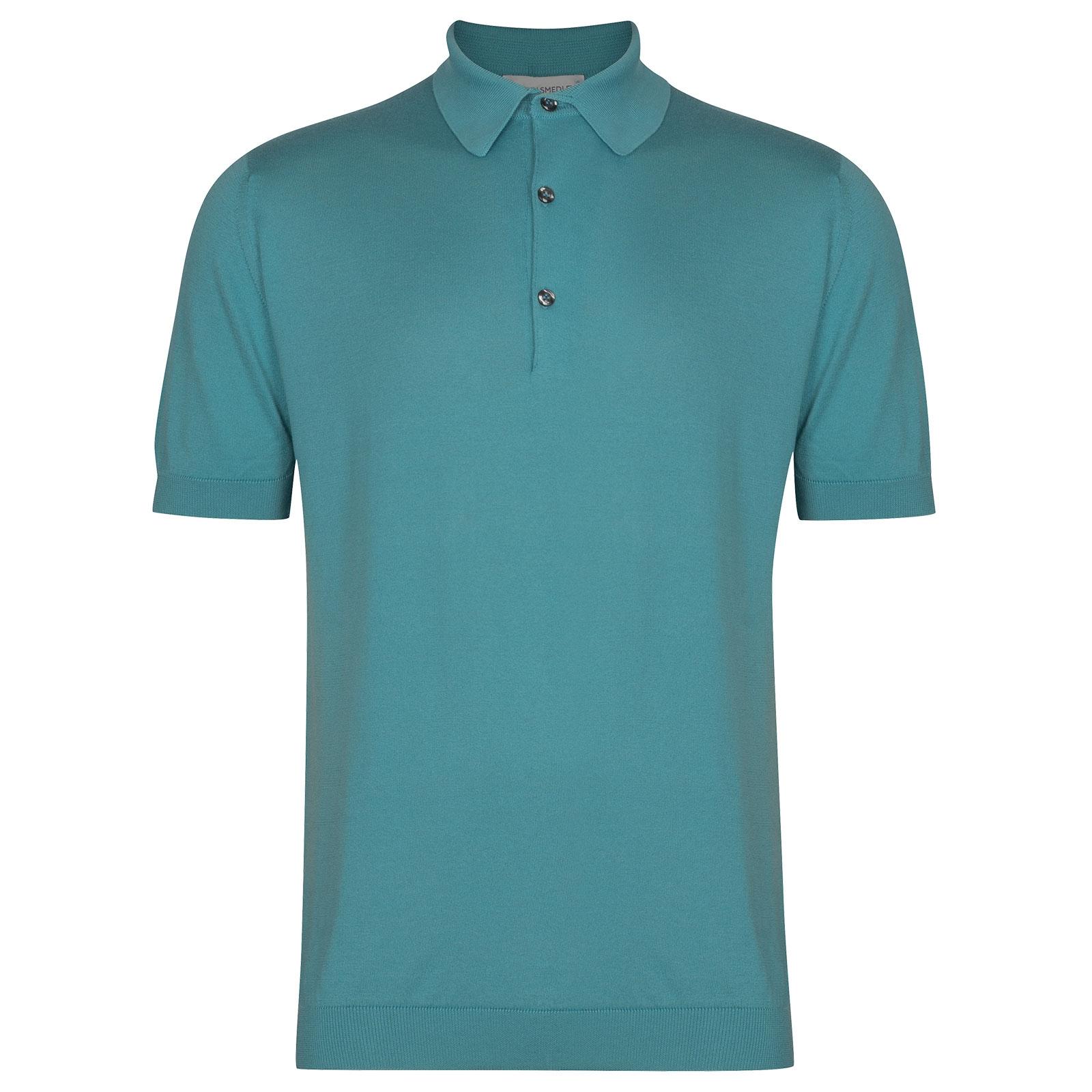 John Smedley Adrian in Empyrean Blue Shirt-XLG