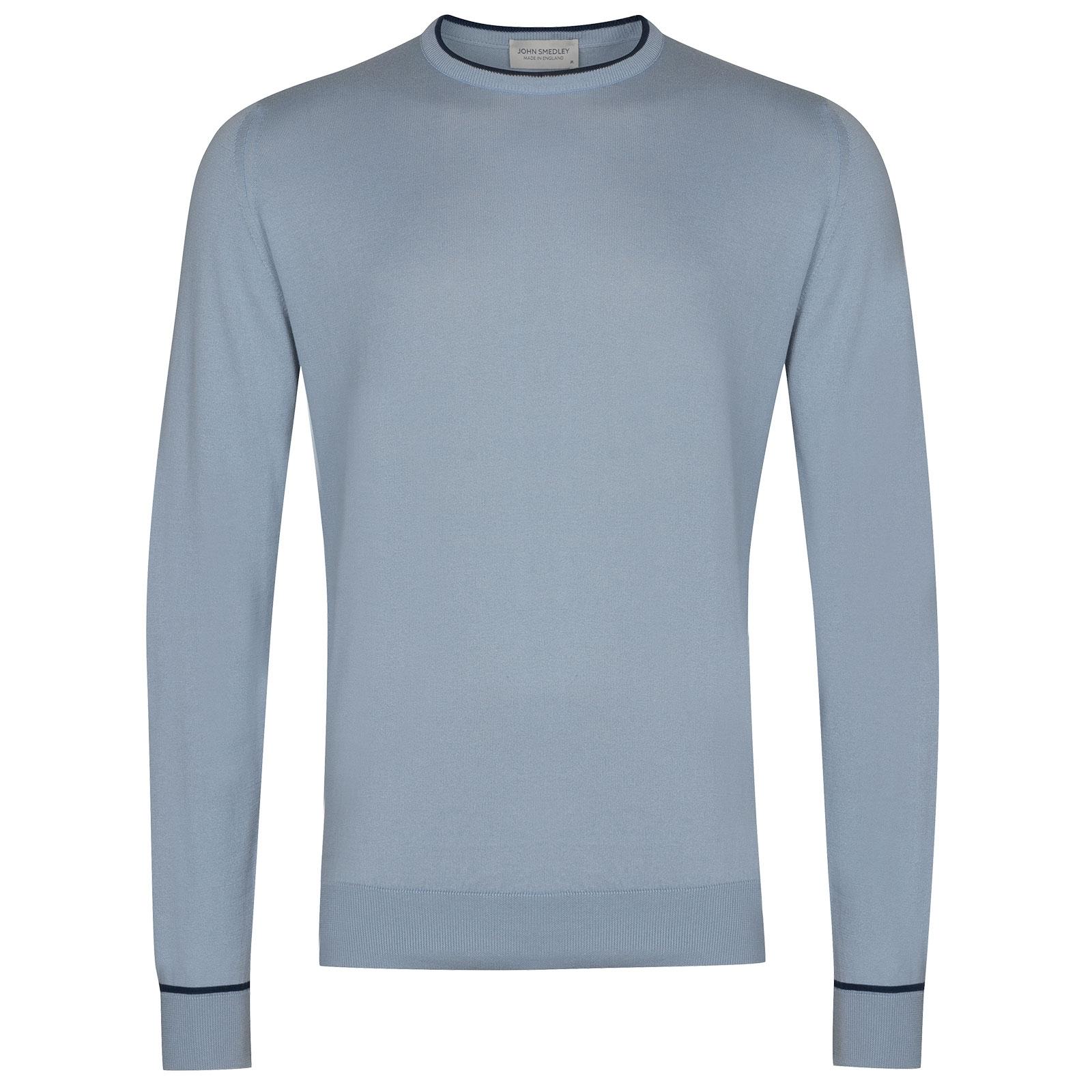 John Smedley Astin in Dusk Blue Pullover-XLG