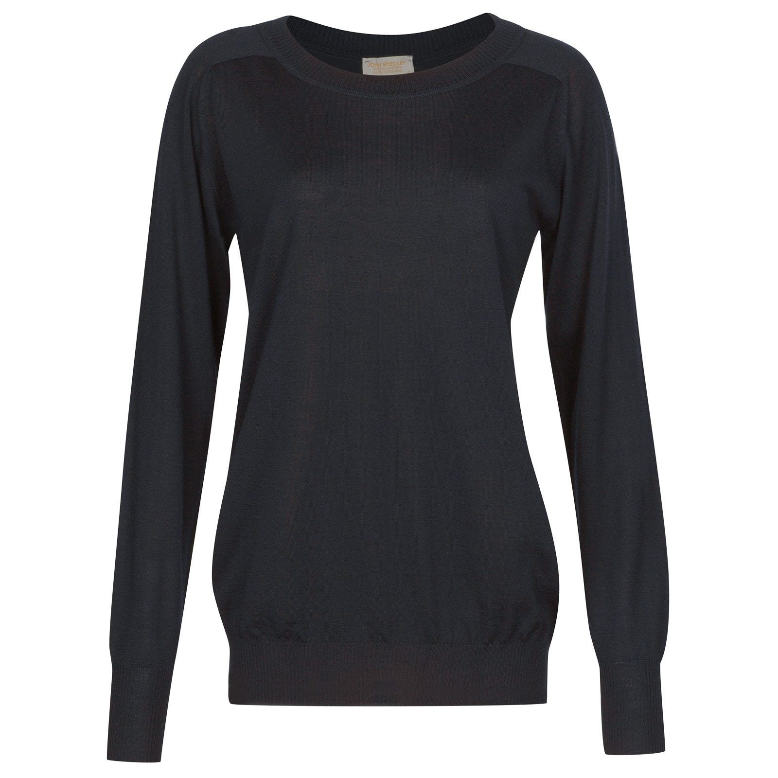 John Smedley Atwood in Midnight Sweater-SML