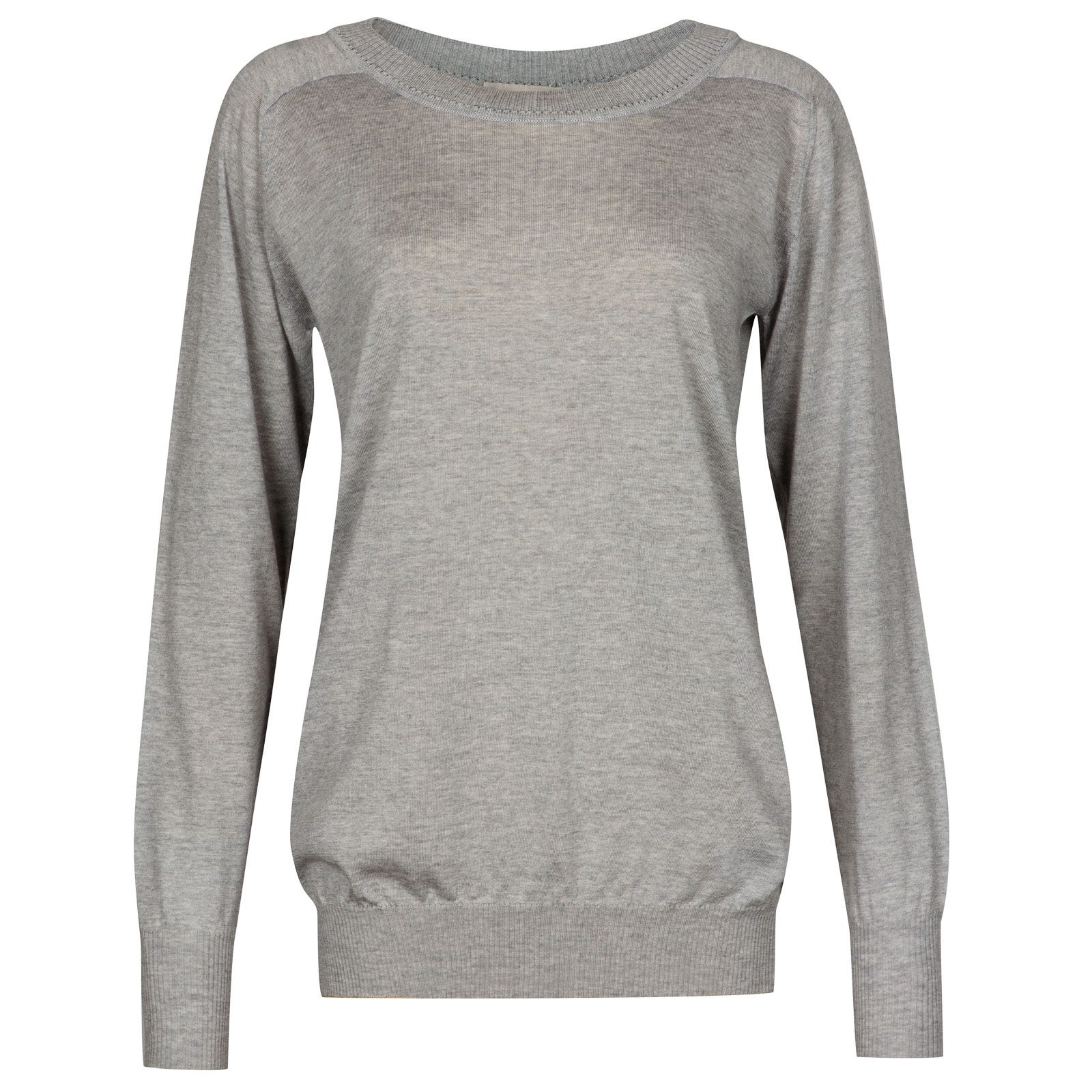 John Smedley Atwood in Soft Pink Sweater-MED