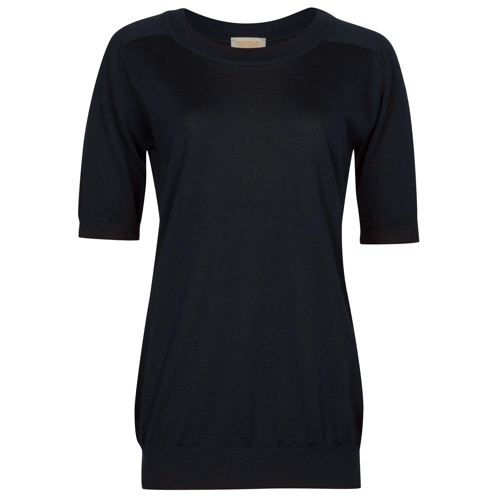 John Smedley Austen in Midnight T-Shirt-LGE
