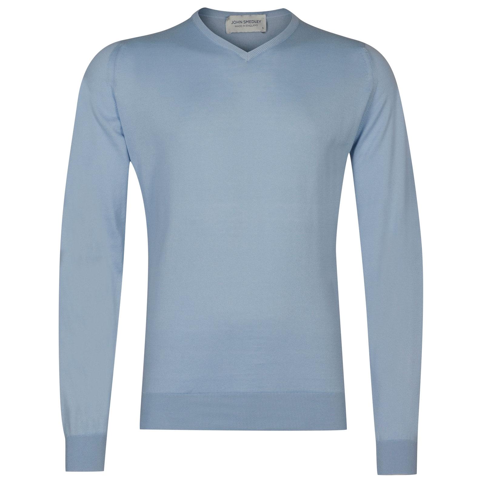 John Smedley Aydon in Dusk Blue Pullover-XLG