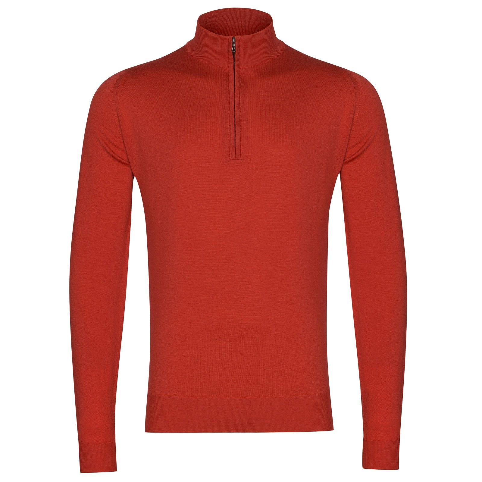 John Smedley Barrow in Red Admiral Pullover-LGE