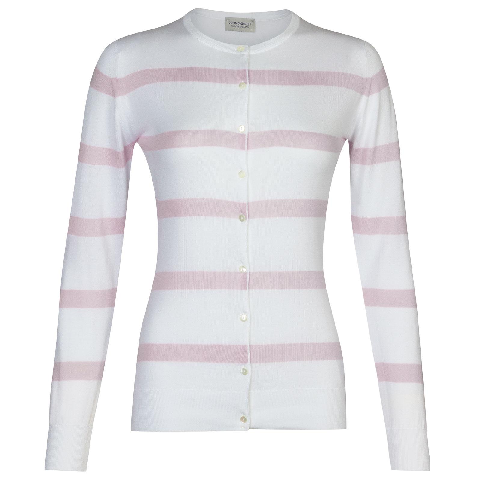Barton In White/Keeling Pink-M