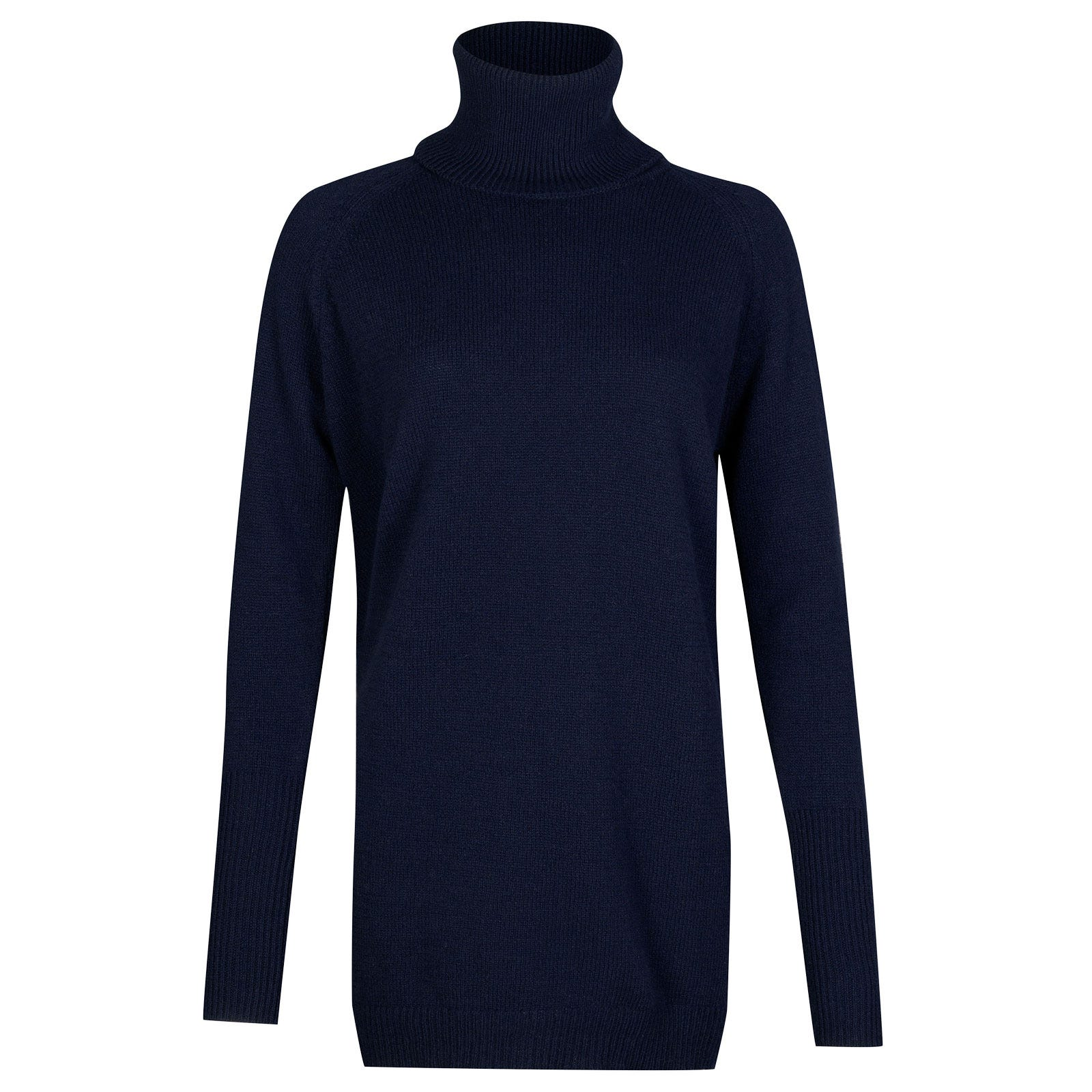 John Smedley beale Merino Wool & Cashmere Sweater in Midnight-XL
