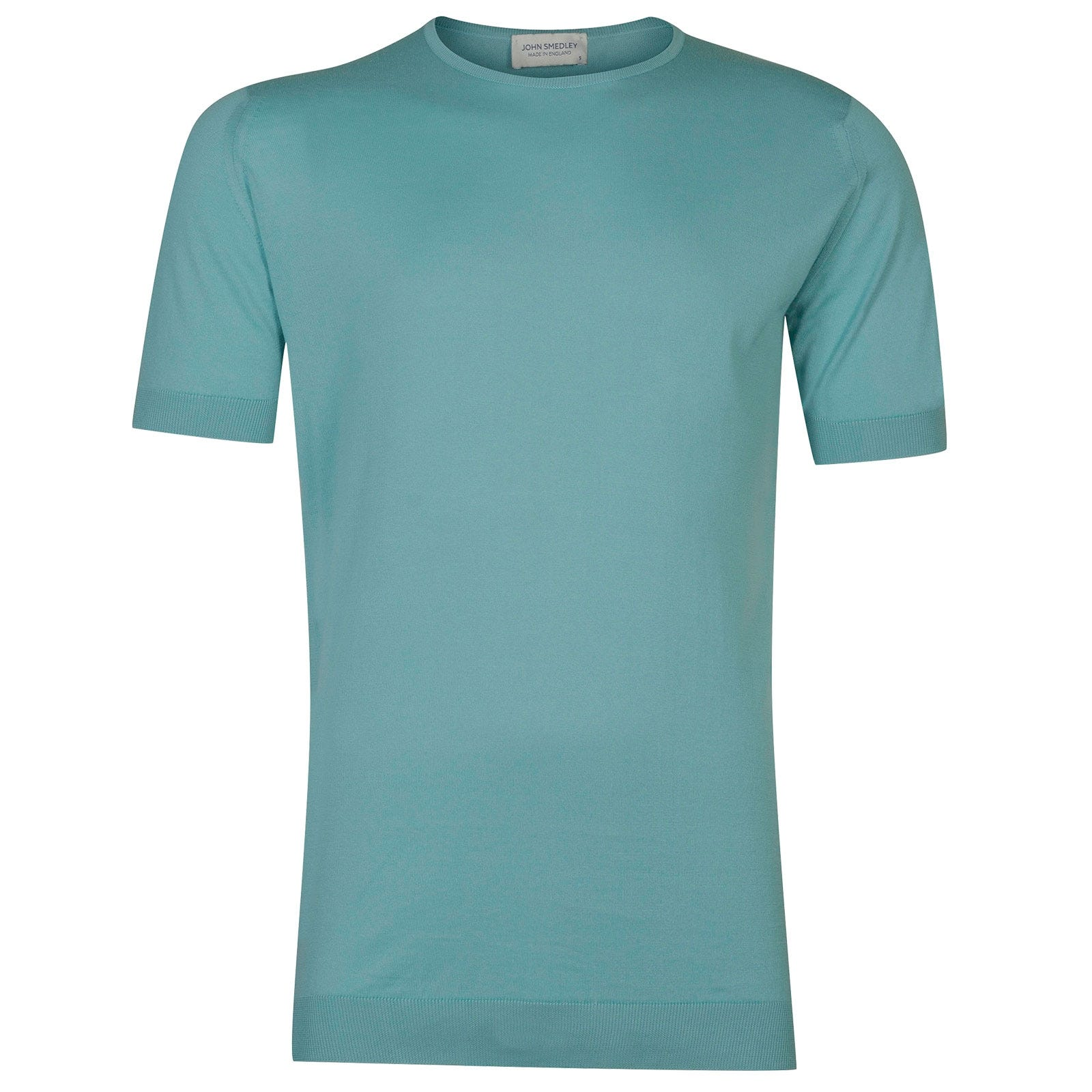 John Smedley Belden in Empyrean Blue T-Shirt-XXL