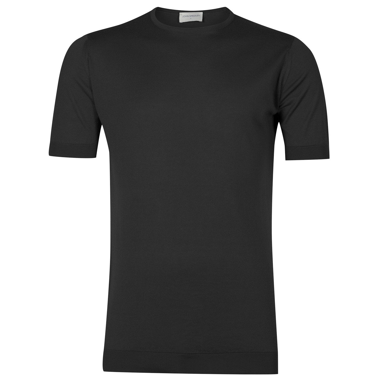 John Smedley Belden in Flannel Grey T-Shirt-MED