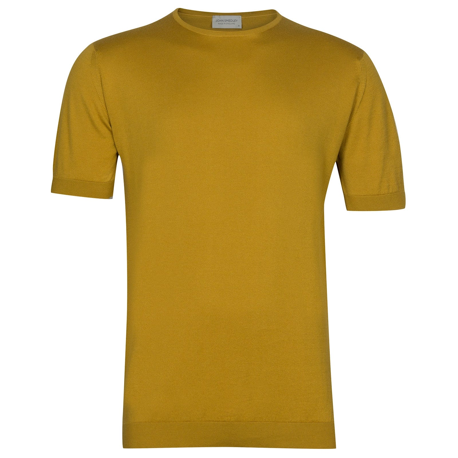 John Smedley Belden in Stamen Yellow T-Shirt-SML
