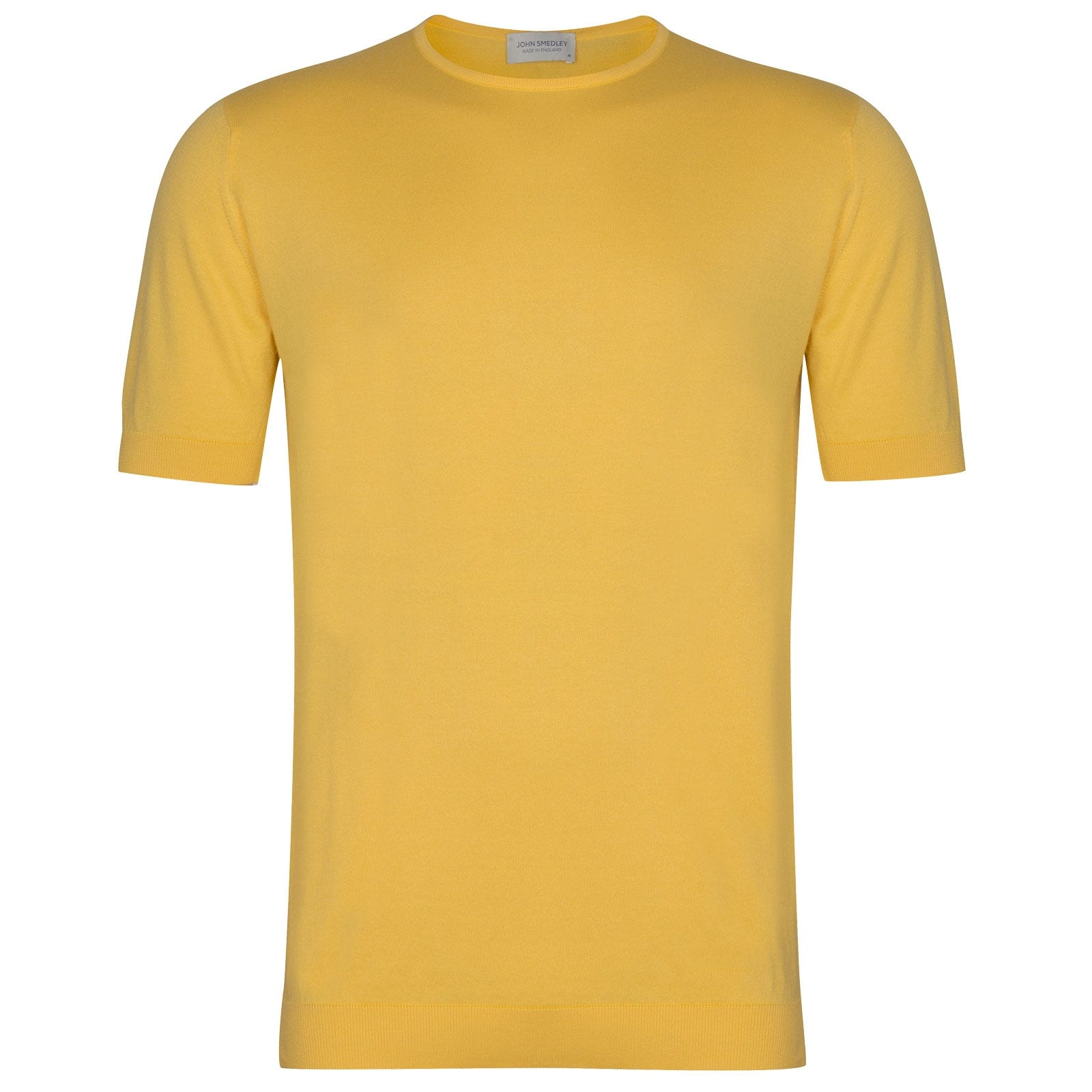 John Smedley Belden in Yellow Bloom T-Shirt-MED