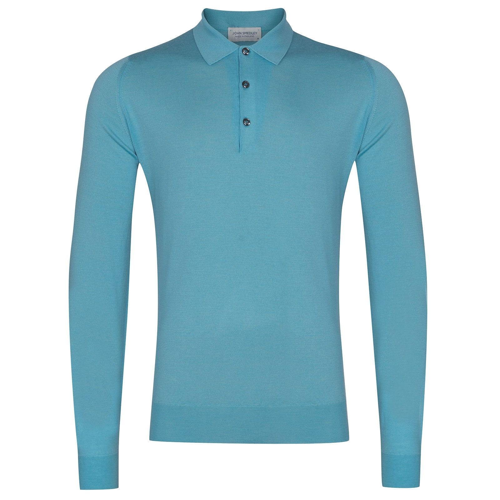 John Smedley Belper in Empyrean Blue Shirt-XLG