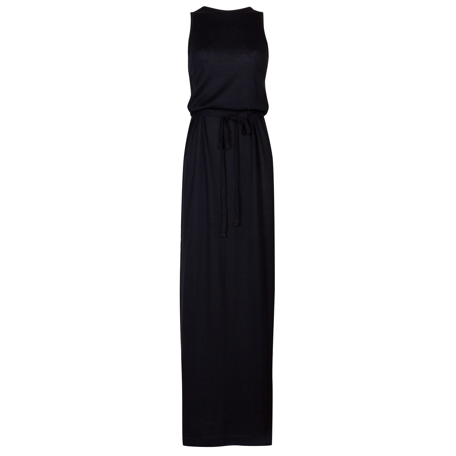 John Smedley Benton Dress in Navy-M
