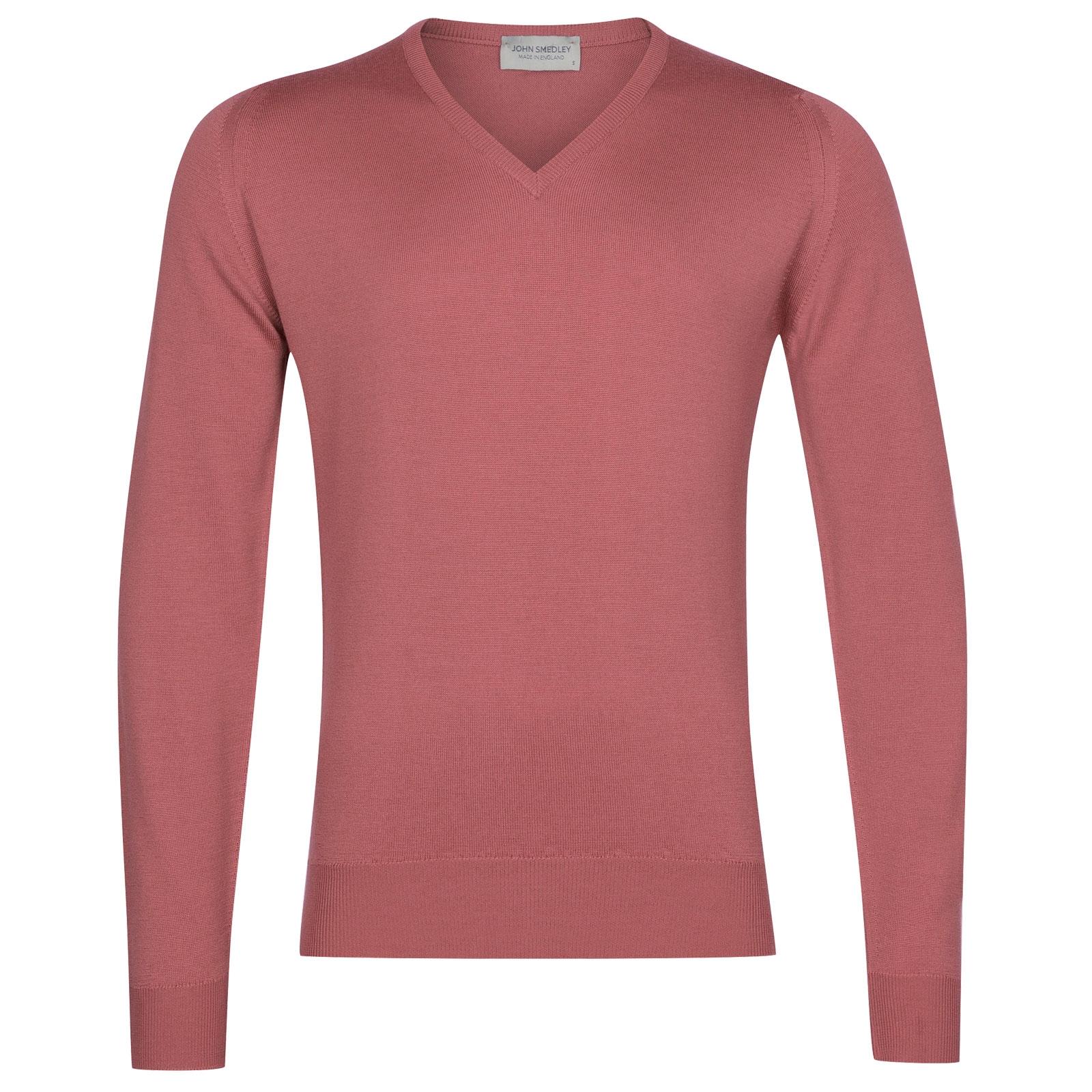 John Smedley Blenheim in Azalea Pink Pullover-LGE