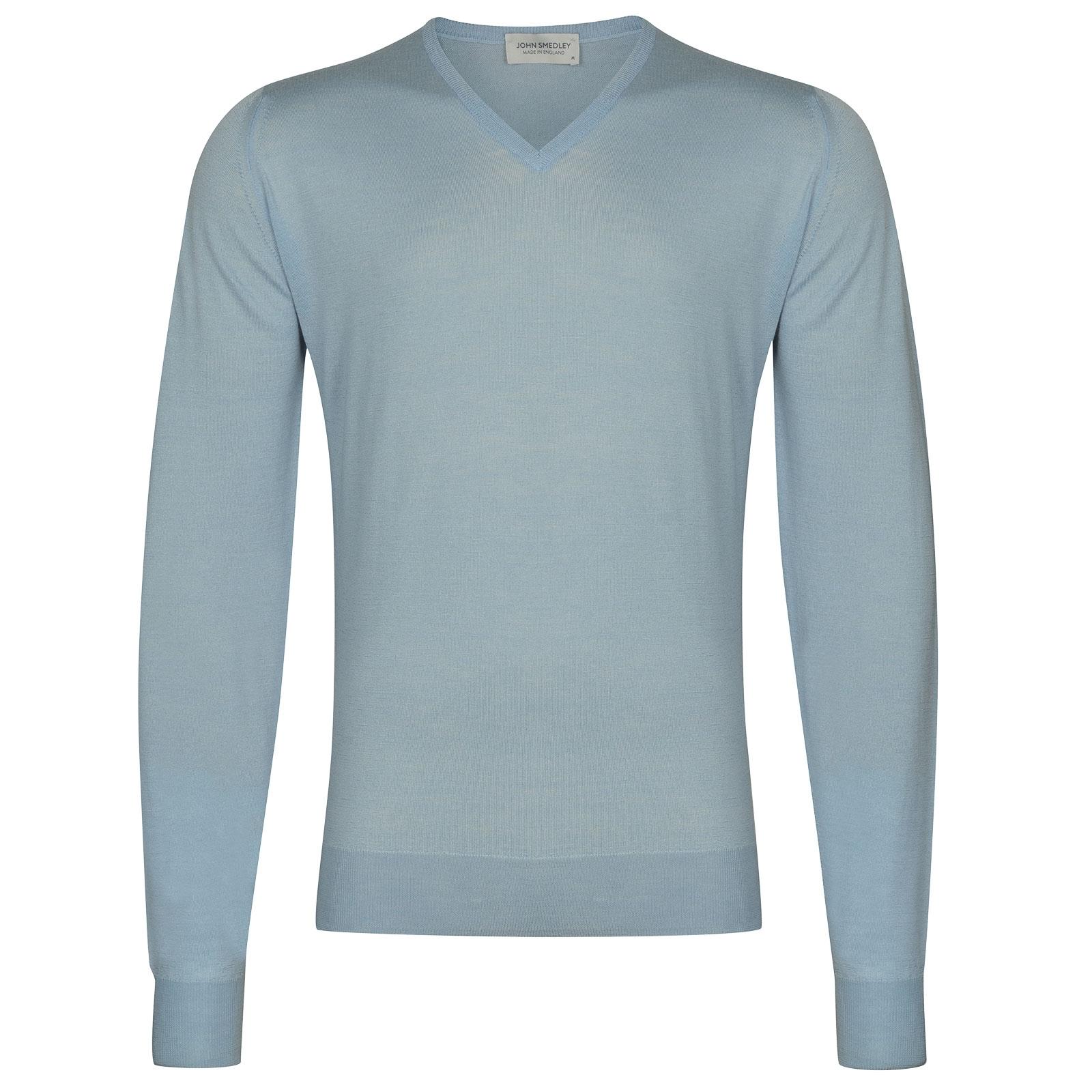 John Smedley Blenheim in Dusk Blue Pullover-XLG