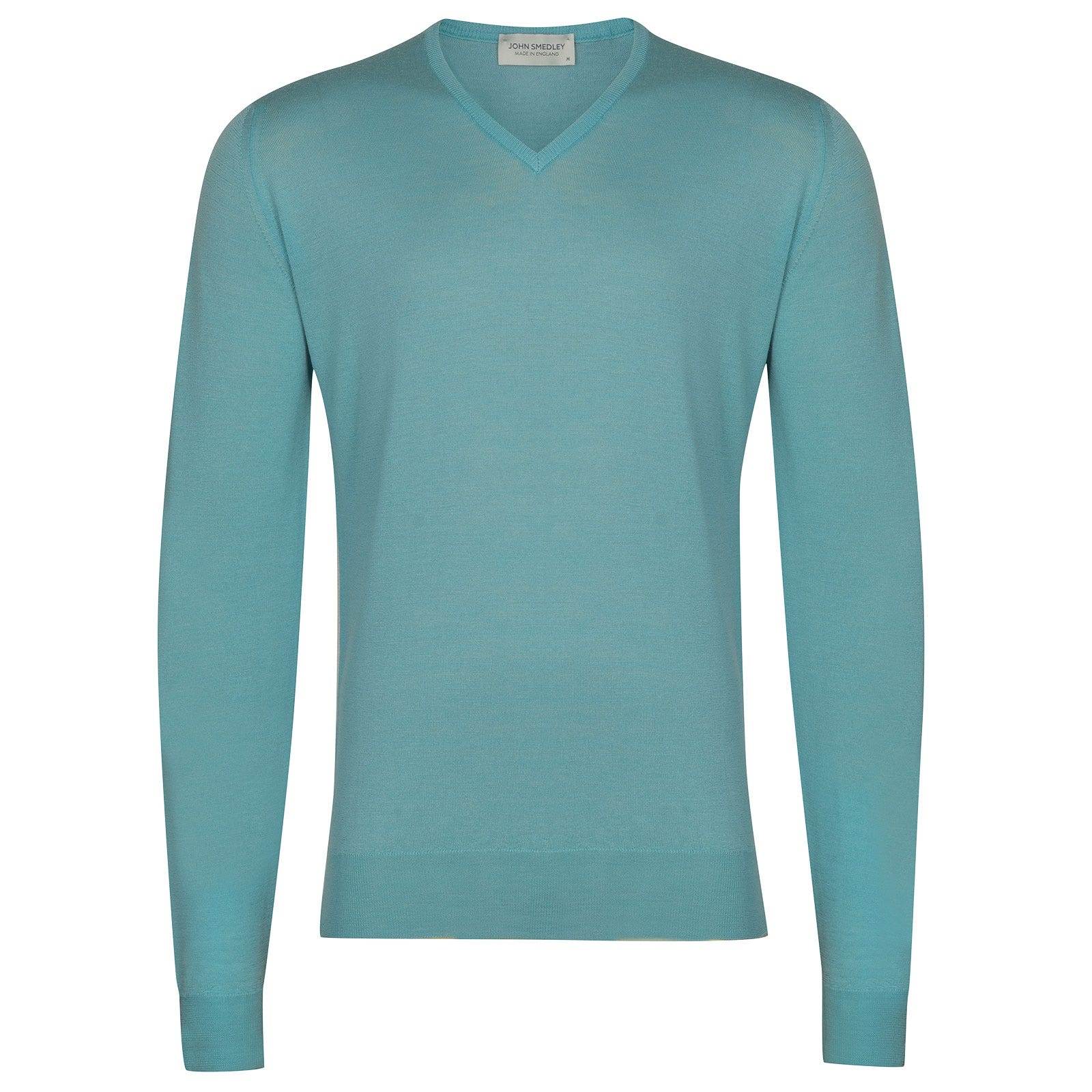 John Smedley Blenheim in Empyrean Blue Pullover-XXL