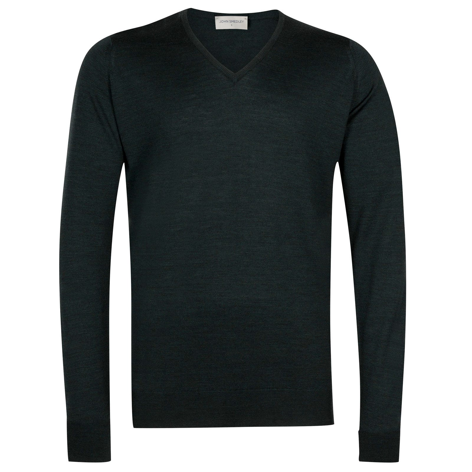 John Smedley Bobby Merino Wool Pullover in Racing Green-M