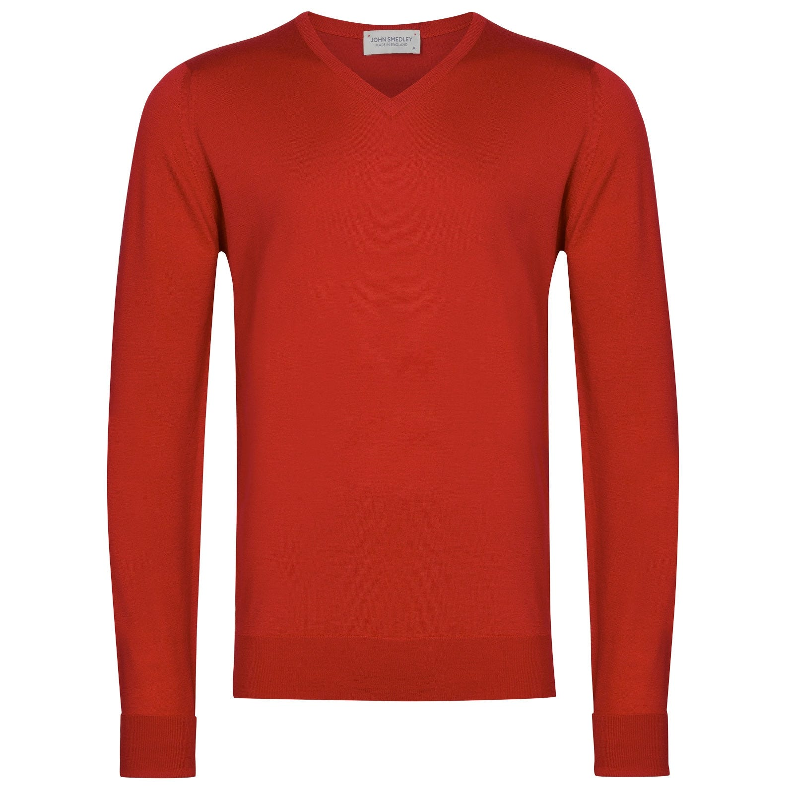 John Smedley Bobby in Red Admiral Pullover-XXL