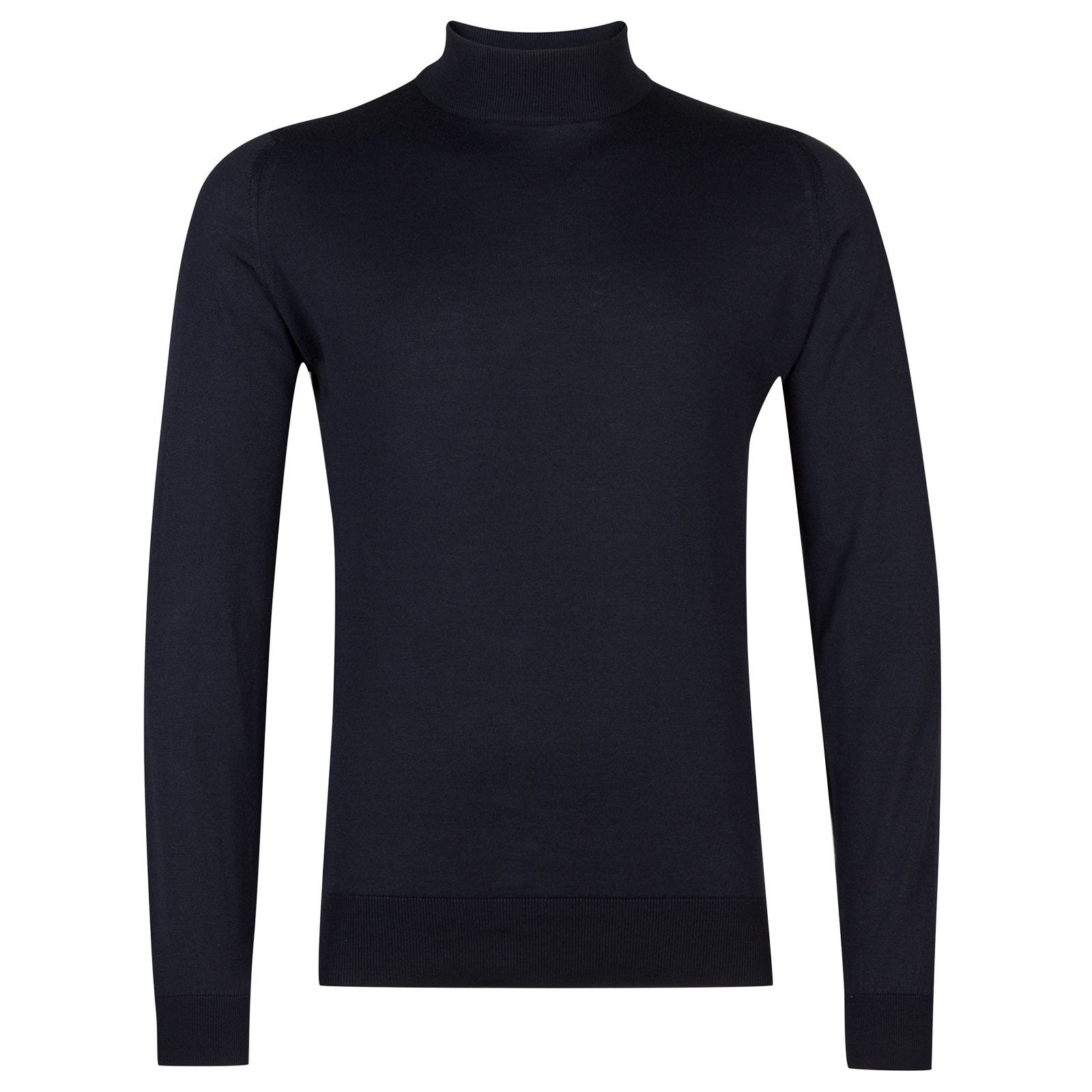 John Smedley Bradgate Sea Island Cotton Pullover in Navy-S