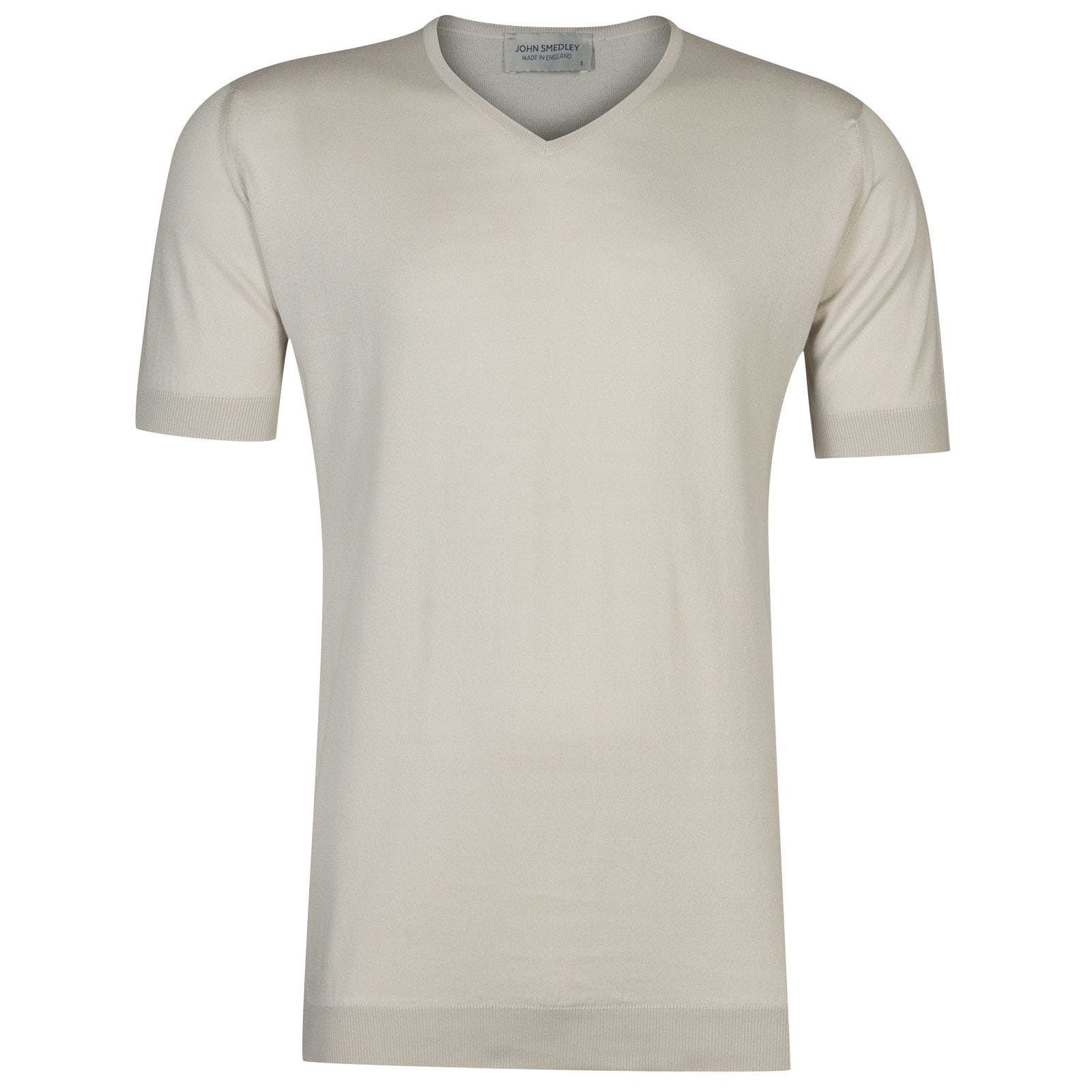 John Smedley Braedon in Brunel Beige T-Shirt-XXL
