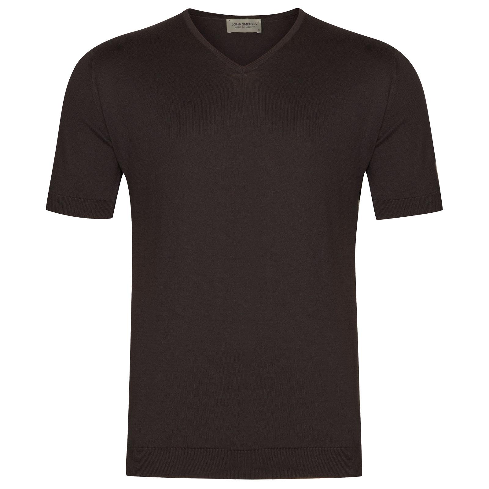 John Smedley Braedon in Flannel Grey T-Shirt-XXL