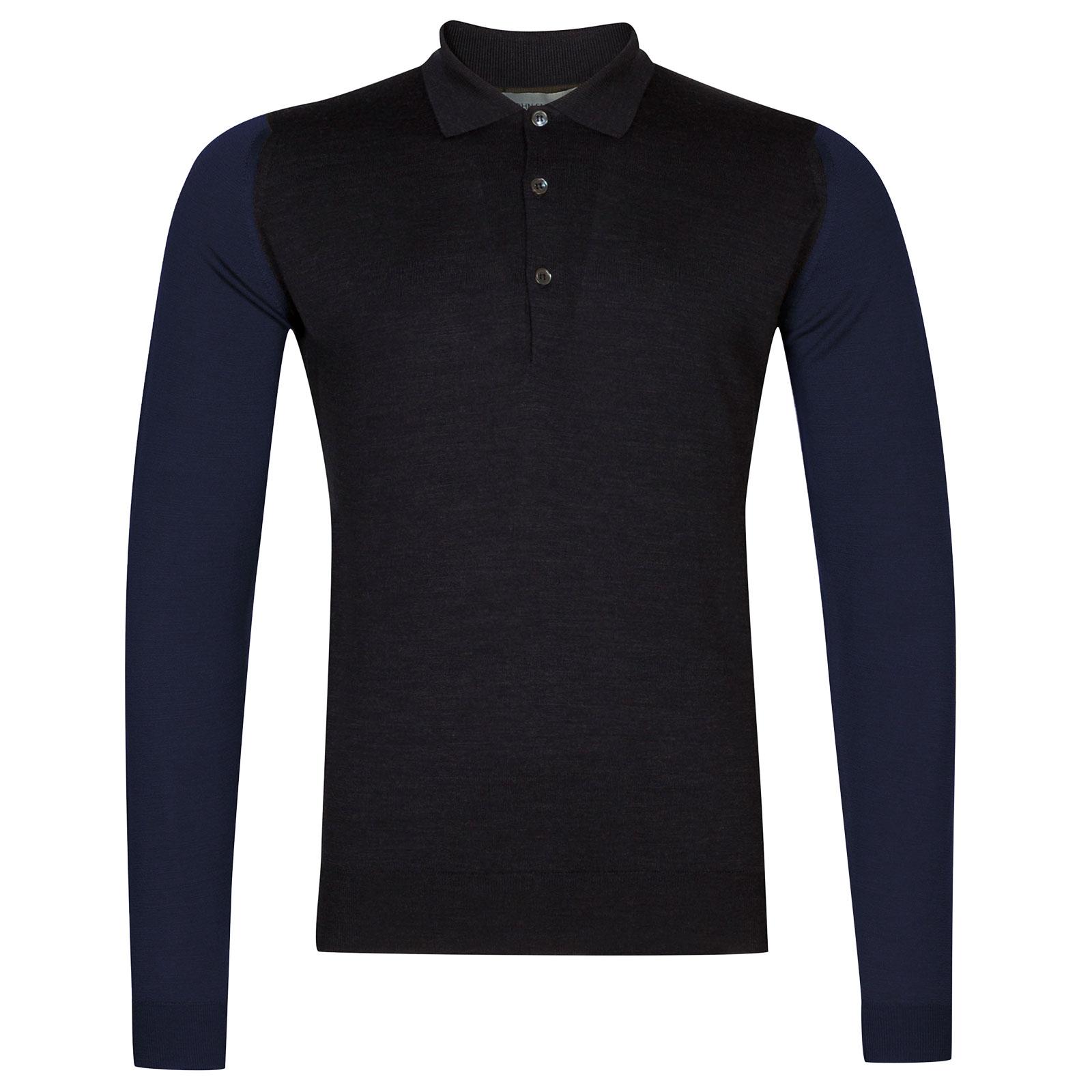 John Smedley Brightgate Extra Fine Merino Wool Shirt in Hepburn