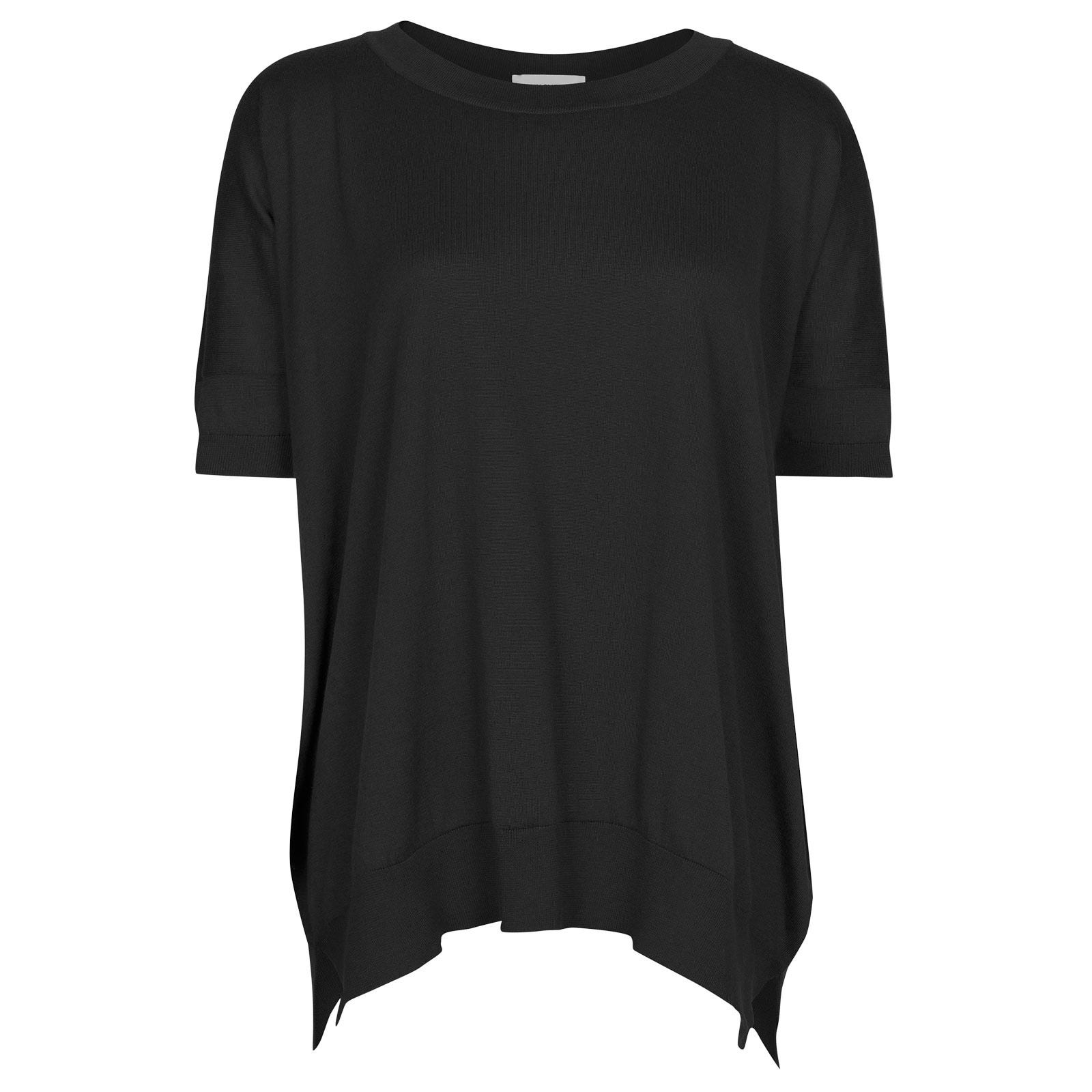 John Smedley Bryony in Black Sweater-XLG