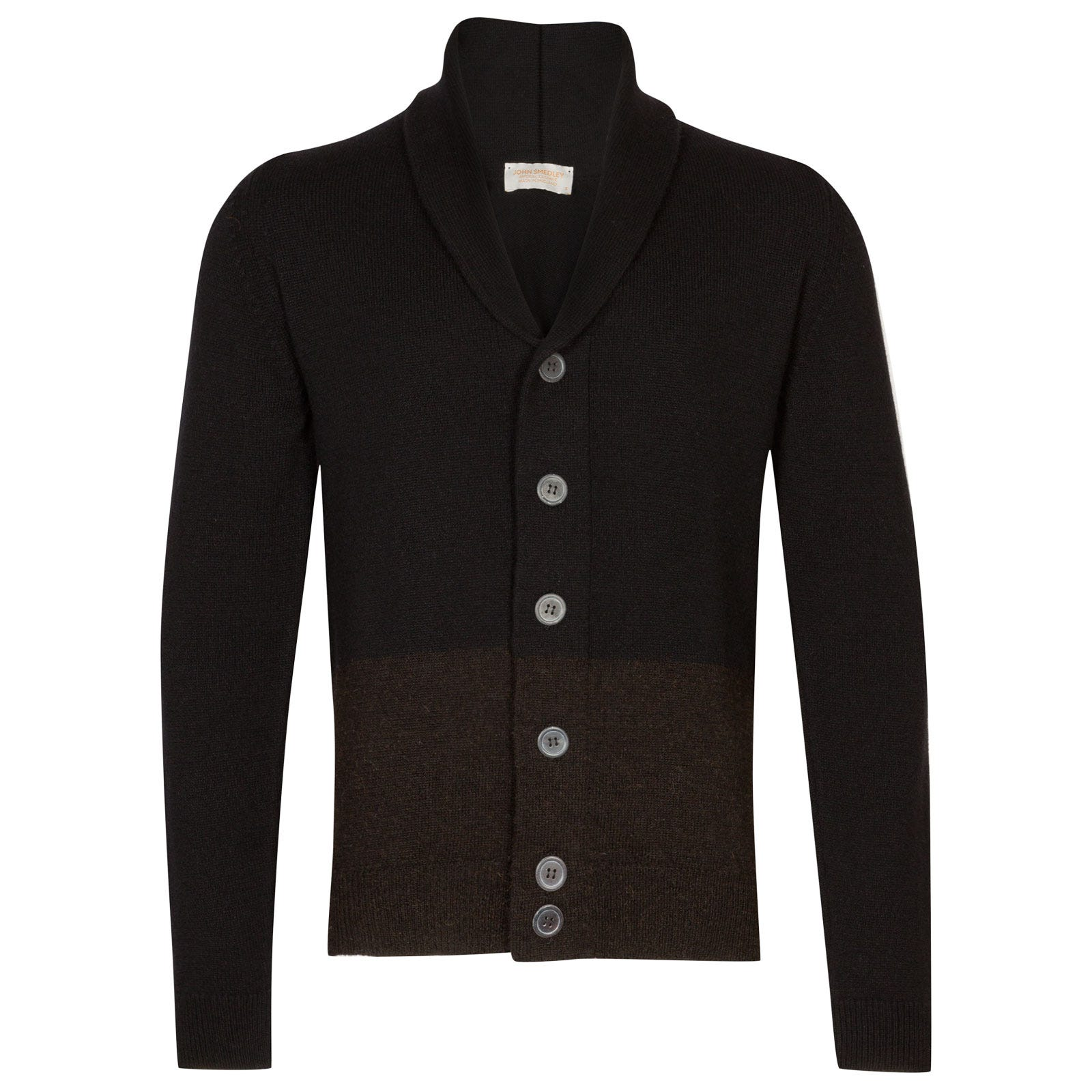 John Smedley cairn British Wool & Cashmere Wool Jacket in Black-S