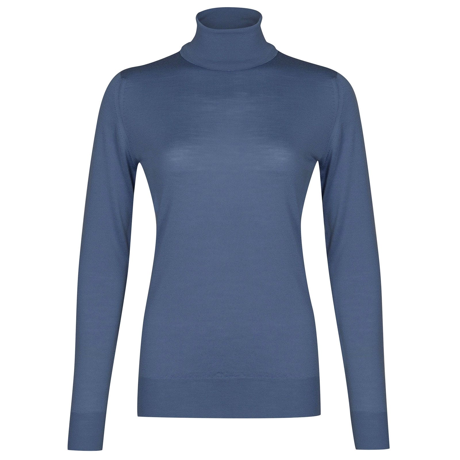 John Smedley Catkin in Blue Iris Sweater-LGE