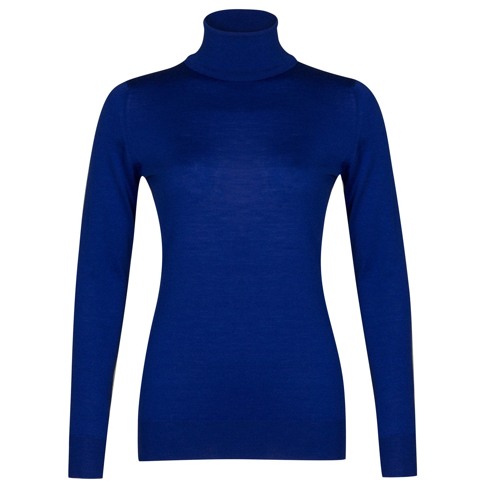 John Smedley Catkin Merino Wool Sweater in Coniston Blue-L
