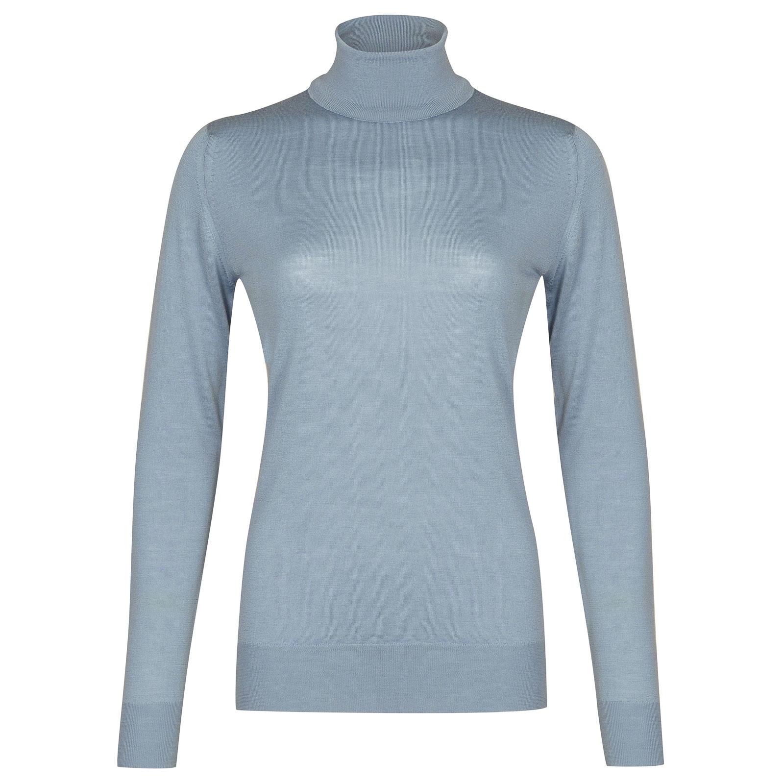 John Smedley Catkin in Dusk Blue Sweater-MED
