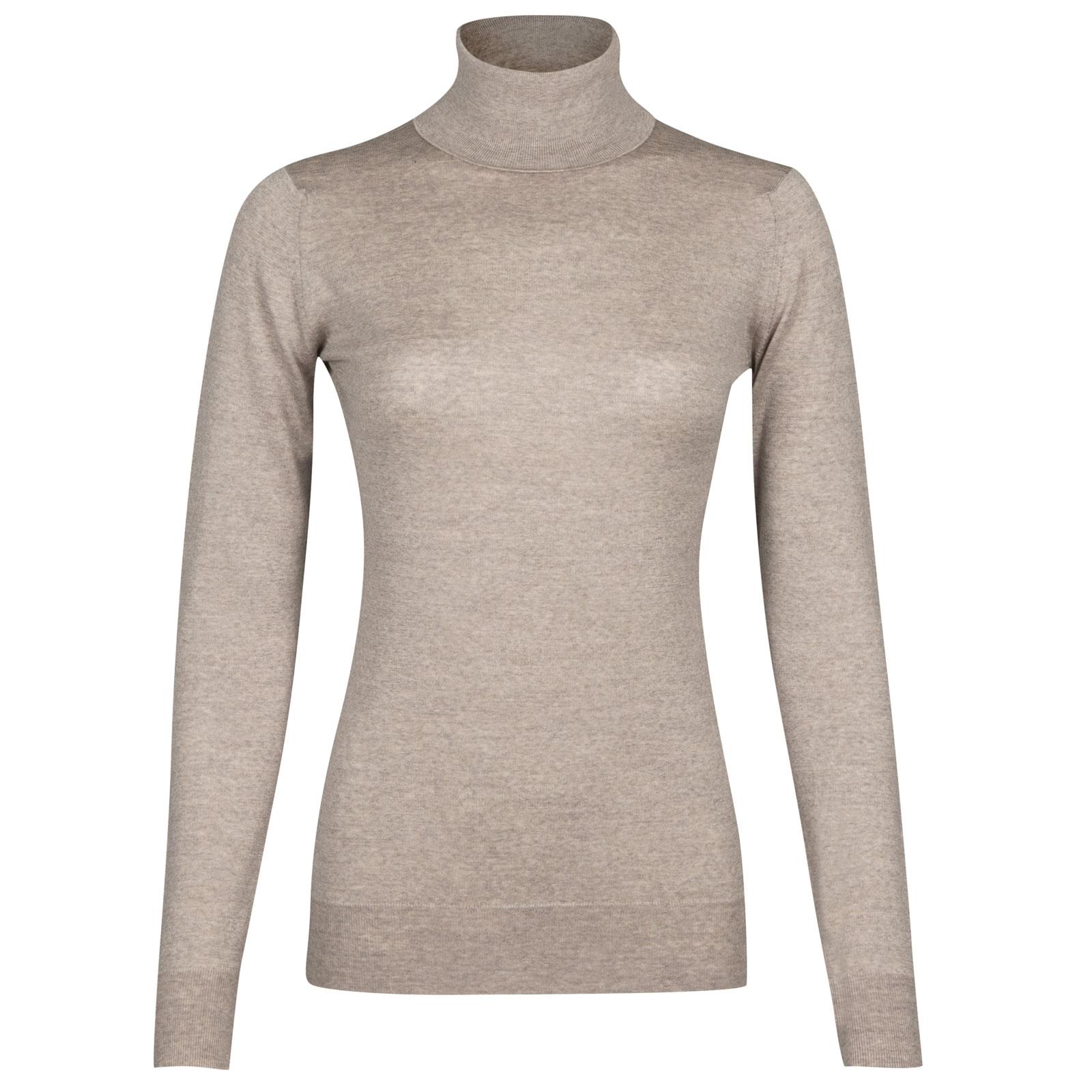 John Smedley Catkin Merino Wool Sweater in Eastwood Beige-L