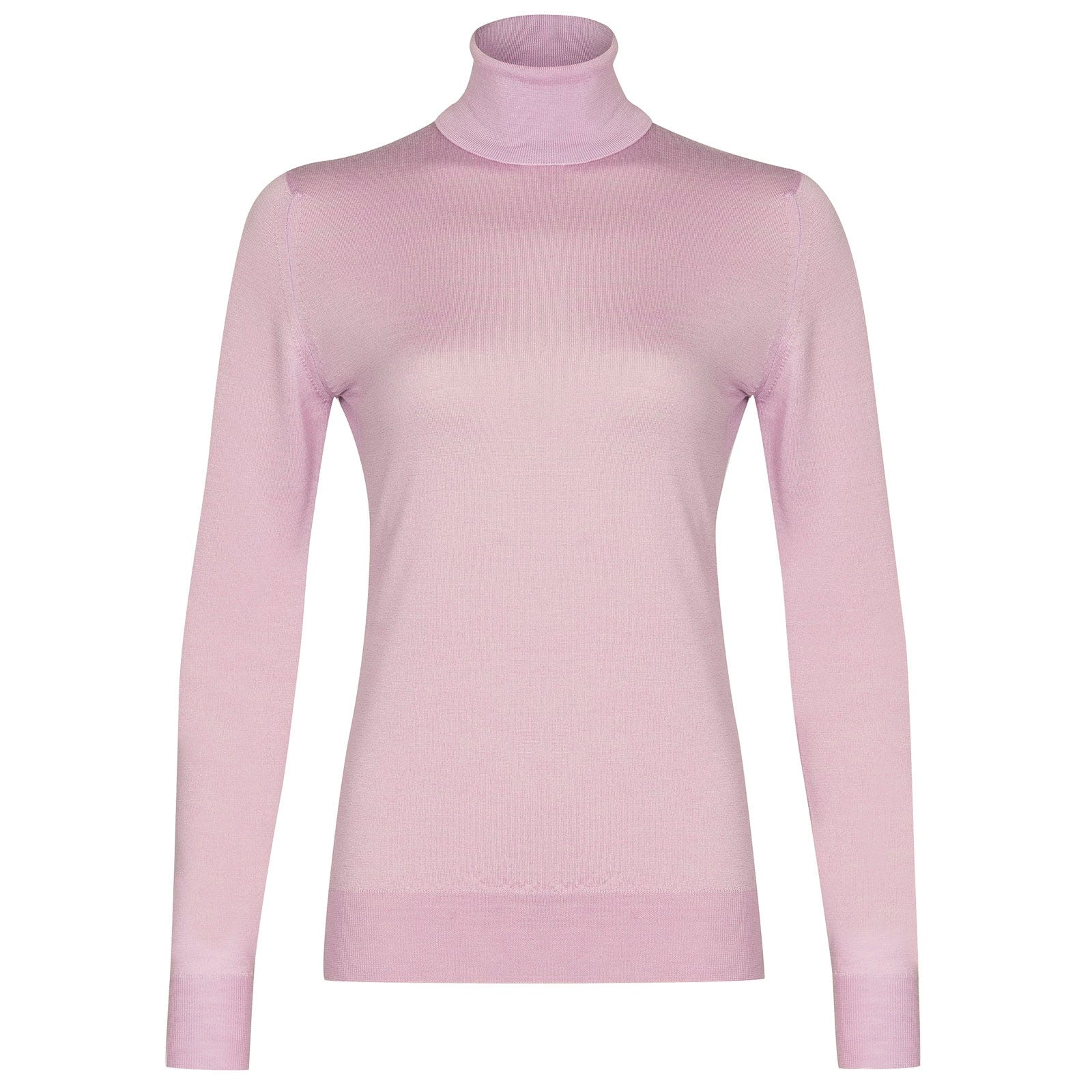 John Smedley Catkin in Pink Blossom Sweater-LGE