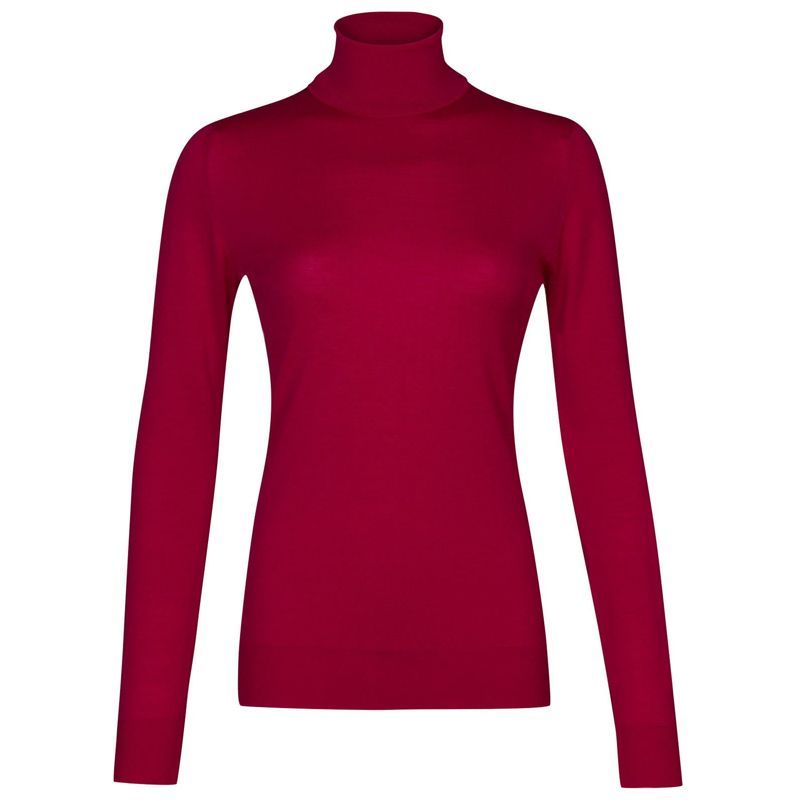 John Smedley Catkin Merino Wool Sweater in Scarlet Sky-M